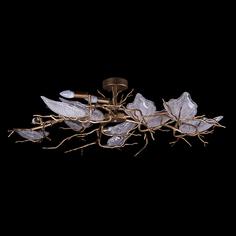 Светильник потолочный Image Lighting Дафна 110х110х30 см