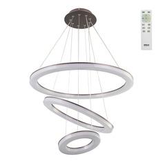 Люстра подвесная Светодиодная с пультом Citilux Электрон венге CL710105RS