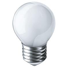Лампа накаливания Navigator шарик матовая 40Вт цоколь E27