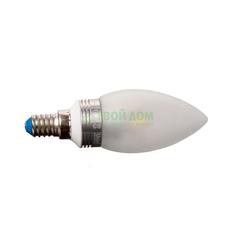 Лампочка Uniel LED-C37P-5W/NW/E14/FR ALC02SL