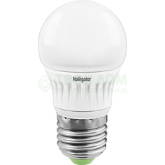 Лампочка Navigator Лампа nll-g45-5-230-2.7k-e27-d