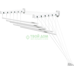 Сушилка для белья Gimi Lift 180 10.5м настенная (1046018300011)