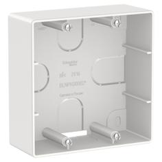 Коробка подъем для силовых розеток белый Шнайдер
