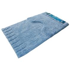 Набор ковриков Sindbad для ванны 2 шт голубой