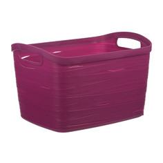 Корзина для хранения Curver Ribbon L Фиолет (00719-437-00)