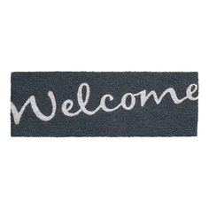 Коврик HAMAT 147 Ruco Welcome серый 26x75 см