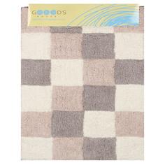Коврик для ванной Gooods house 60х90 мозаика серый
