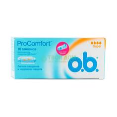 Тампон O.B. Procomfort Normal 16 шт (5449200-1, 3853602)