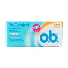 Тампон O.B. Procomfort Super 16 шт