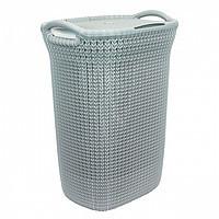 Корзина для белья knit серо-голубая (228411/03676-X60-00) Curver