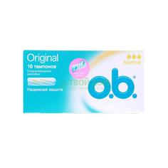 Тампон O.B. Original Normal 16 шт