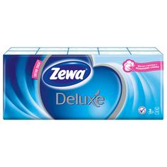 Носовые Платки Zewa Deluxe, 3 слоя, 10шт.Х10