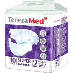 Подгузники для взрослых TerezaMed Super Medium 10 шт