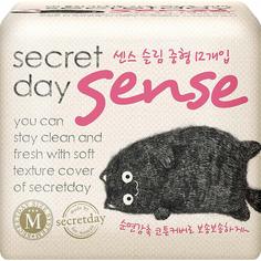 Прокладки Secret Day Sense M 12 шт