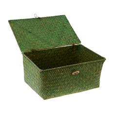 Корзина для вещей Bizzotto home cloe green L