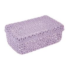 Коробка для хранения Bizzotto deco uncinetto lilla s 380191
