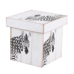 Коробка декоративная Grand forest zebra 20x20x20