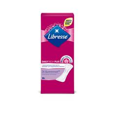 Ежедневные прокладки Libresse Dailyfresh Plus Long, 26 шт.