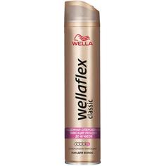 Лак для волос Wellaflex Classic Суперсильная фиксация 400 мл