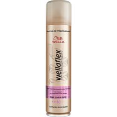 Лак для волос Wellaflex Сильная фиксация 400 мл