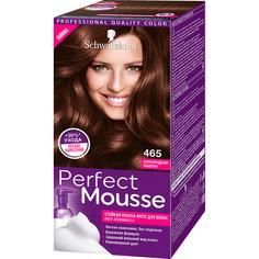 Краска-мусс для волос Schwarzkopf Perfect Mousse 465 Шоколадный каштан