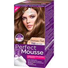 Краска-мусс для волос Schwarzkopf Perfect Mousse 700 Темно-русый