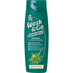 Шампунь для сухих волос Содалис wash&go 400 мл