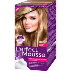 Краска-мусс для волос Schwarzkopf Perfect Mousse 800 Средне-русый