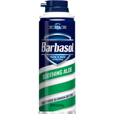 Крем-пена для бритья Barbasol Soothing Aloe Shaving Cream 170 г