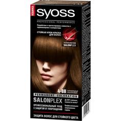 Краска для волос Syoss SalonPlex 4-88 Карамельный каштановый