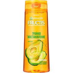Шампунь Garnier Fructis Тройное Восстановление Для сухих и поврежденных волос 400 мл