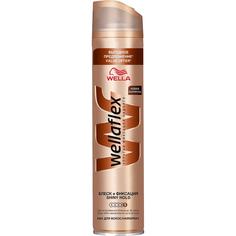 Лак для волос Wellaflex Блеск и фиксация Суперсильная фиксация 400 мл
