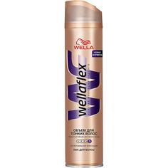 Лак для волос Wellaflex Объем для тонких волос Суперсильная фиксация 250 мл