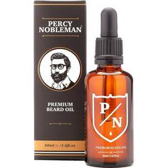 Премиальное масло для бороды Percy Nobleman Premium Beard Oil 50 мл