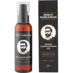 Масло для бороды Percy Nobleman Beard Oil Fragrance Free 100 мл