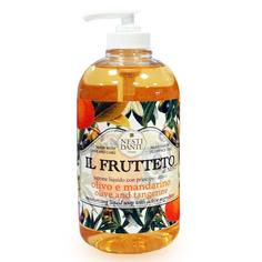 Мыло жидкое оливковое масло/мандарин 500мл Nesti dante