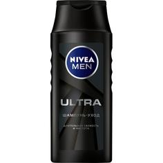 Шампунь Nivea Men Ultra Длительная свежесть и чистота 400 мл