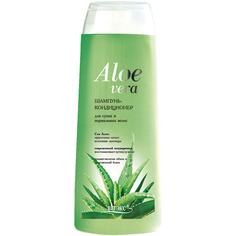 Шампунь-кондиционер ВИТЭКС Aloe Vera для сухих и нормальных волос 500 мл Viteks