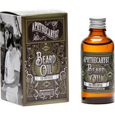Масло для бороды Apothecary 87 Без запаха Beard Oil 50 мл