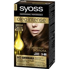 Краска для волос Syoss Oleo Intense 3-86 Темный шоколад