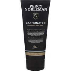 Шампунь и средство для мытья Percy Nobleman Caffeinated Shampoo&Body Wash с кофеином 200 мл