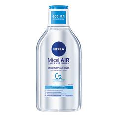 Мицеллярная вода Nivea MicellAIR Дыхание кожи для нормальной и комбинированной кожи 400 мл