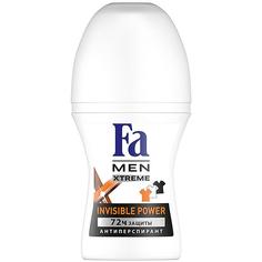 Дезодорант шариковый Fa Men Xtreme Invisible Сила против пятен 50 мл