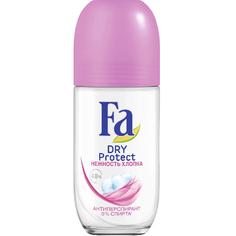 Дезодорант шариковый Fa Dry Protect Нежность хлопка 50мл
