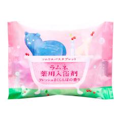 Соль-таблетка для ванн Charley Sommelier Расслабляющая с ароматом цветущей сакуры 40 г