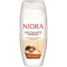 Пена-молочко для душа Nidra Питательная с аргановым маслом 250 мл