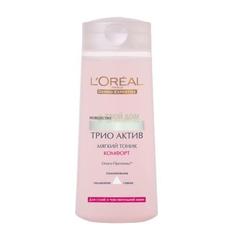 Тоник Loreal Трио Актив Для сухой и чувствительной кожи 200 мл (A4526600/6) LOreal