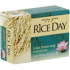 Мыло CJ Lion Rice Day с экстрактом лотоса 100 г