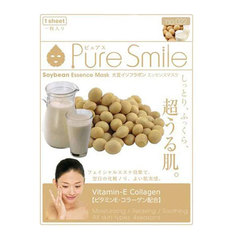 Маска для лица SunSmile Pure Smile Essence Mask Soybean 23 мл