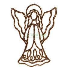 Фигурка Weiste Ангел 130мм золотой (94020)